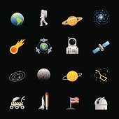 Color Icons - Space