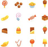 Color Icons - Sweets & Candy