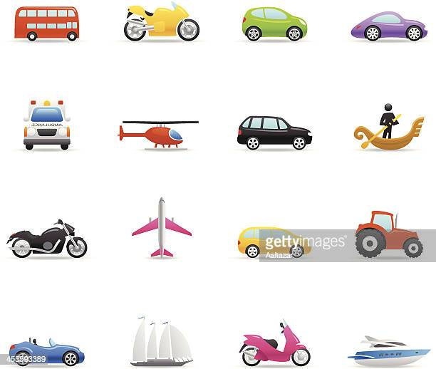Color Icons - Transportation