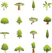 Color Icons - Trees