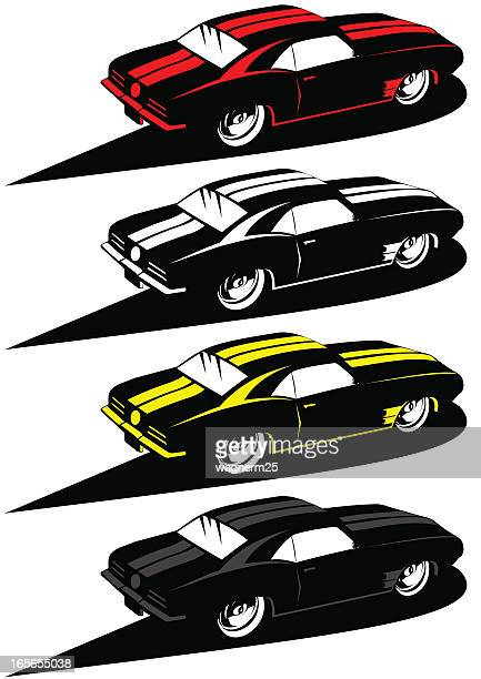 60s Muscle Cars Stock Illustrations And Cartoons Getty Images
