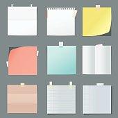 color paper sheets