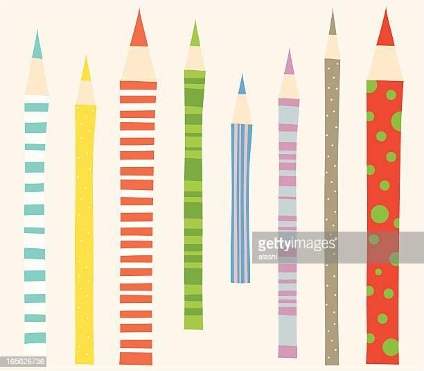 カラー鉛筆 - 読み聞かせ点のイラスト素材/クリップアート素材/マンガ素材/アイコン素材