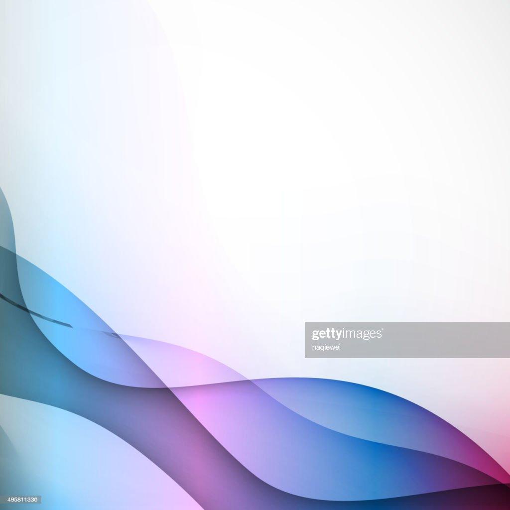 color ribbon pattern background