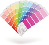 Color sample catalogue