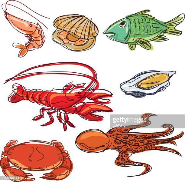Color Seafood collection
