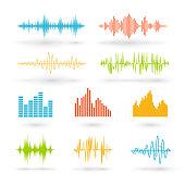 Color sound waves