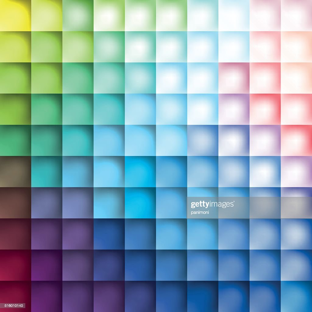 Color squares background, pattern color squares