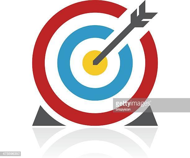 Farbe Ziel Symbol