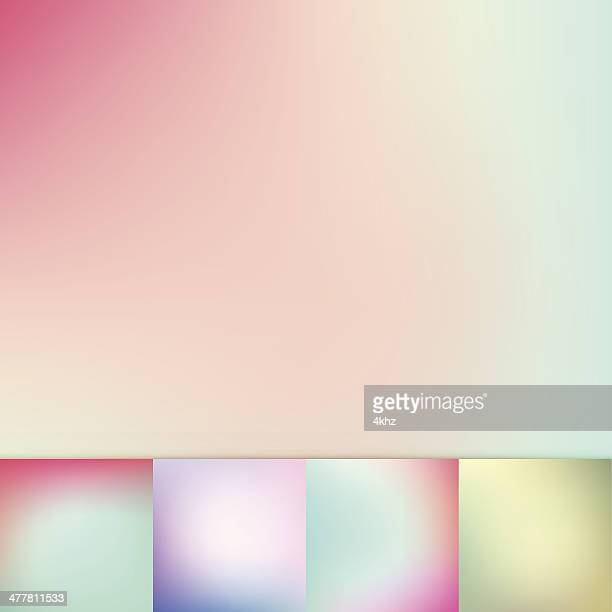 Color Trends Blurry Pastel Colors Soft Gradient Vector Background Collection