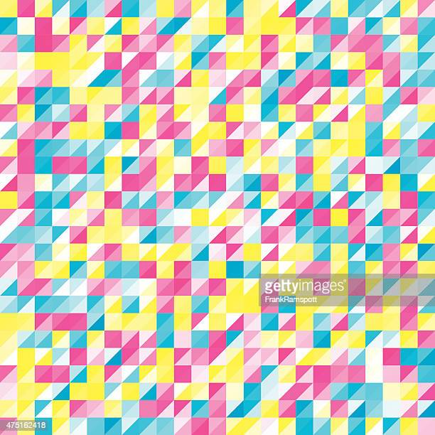 Farbe Triangle Geometrie Muster