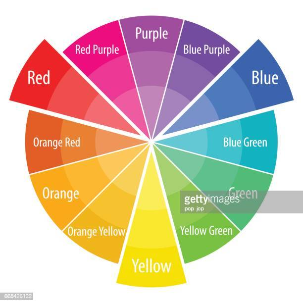 Color Wheel Stock Illustrations And Cartoons