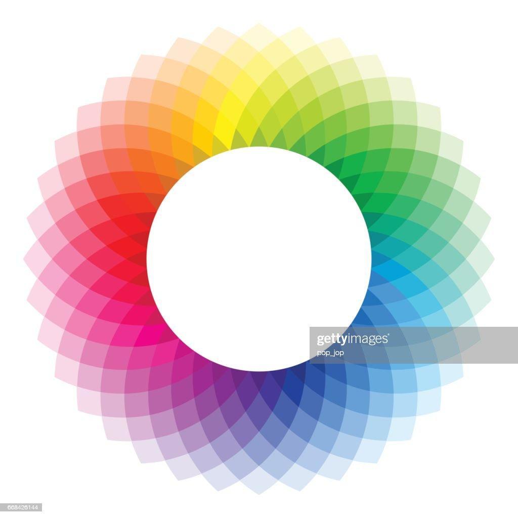 Color wheel - illustration