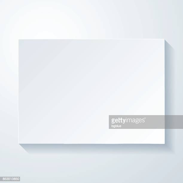colorado map with paper cut effect on blank background - colorido stock illustrations