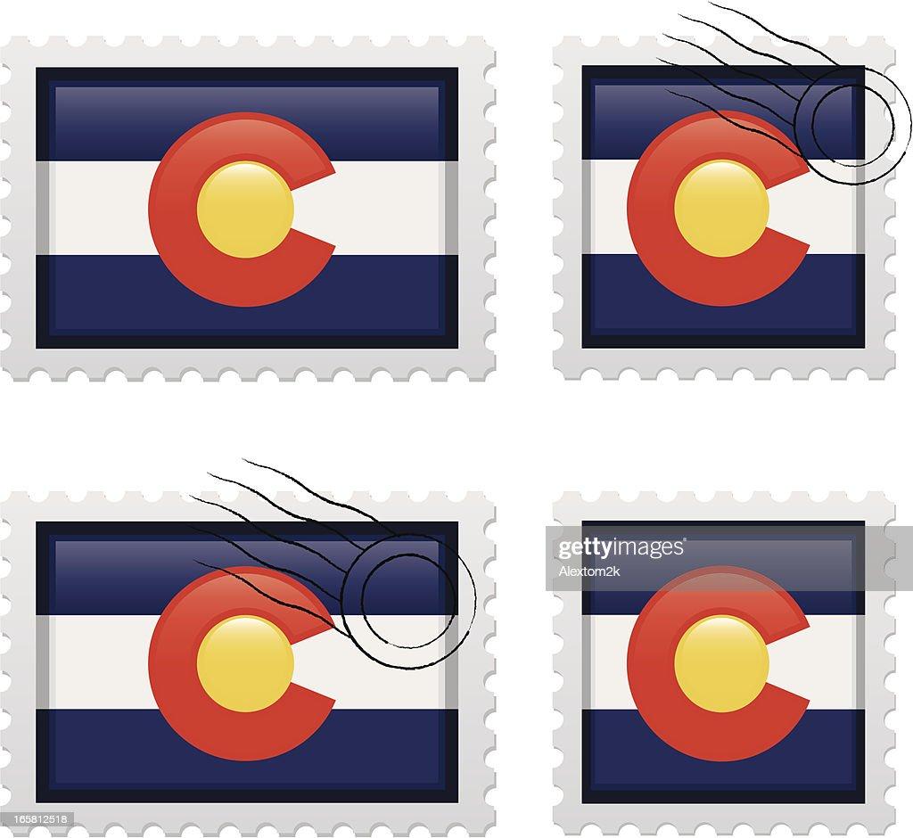 Colorado Stamp Vector Art