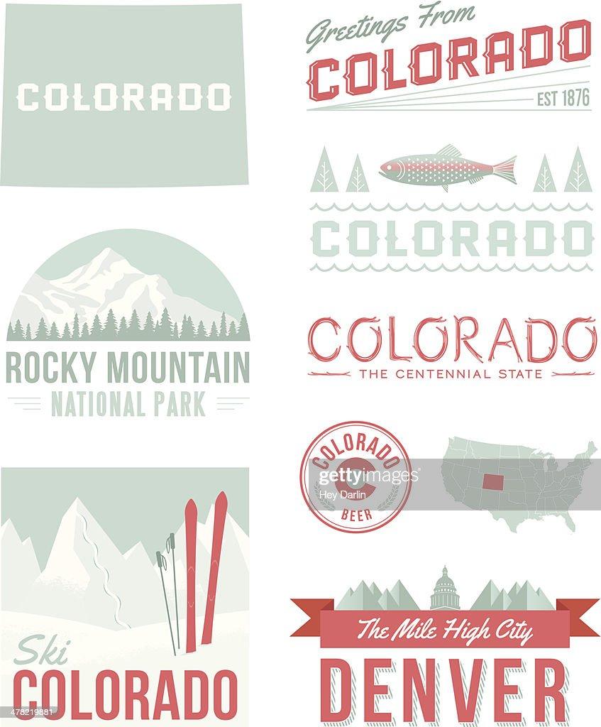 Colorado Typography