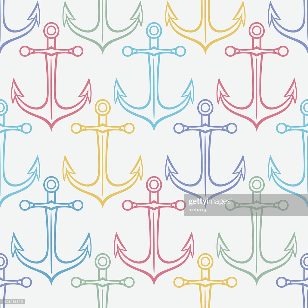 colored anchors