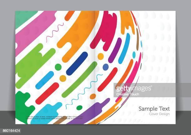 Colored Cover design