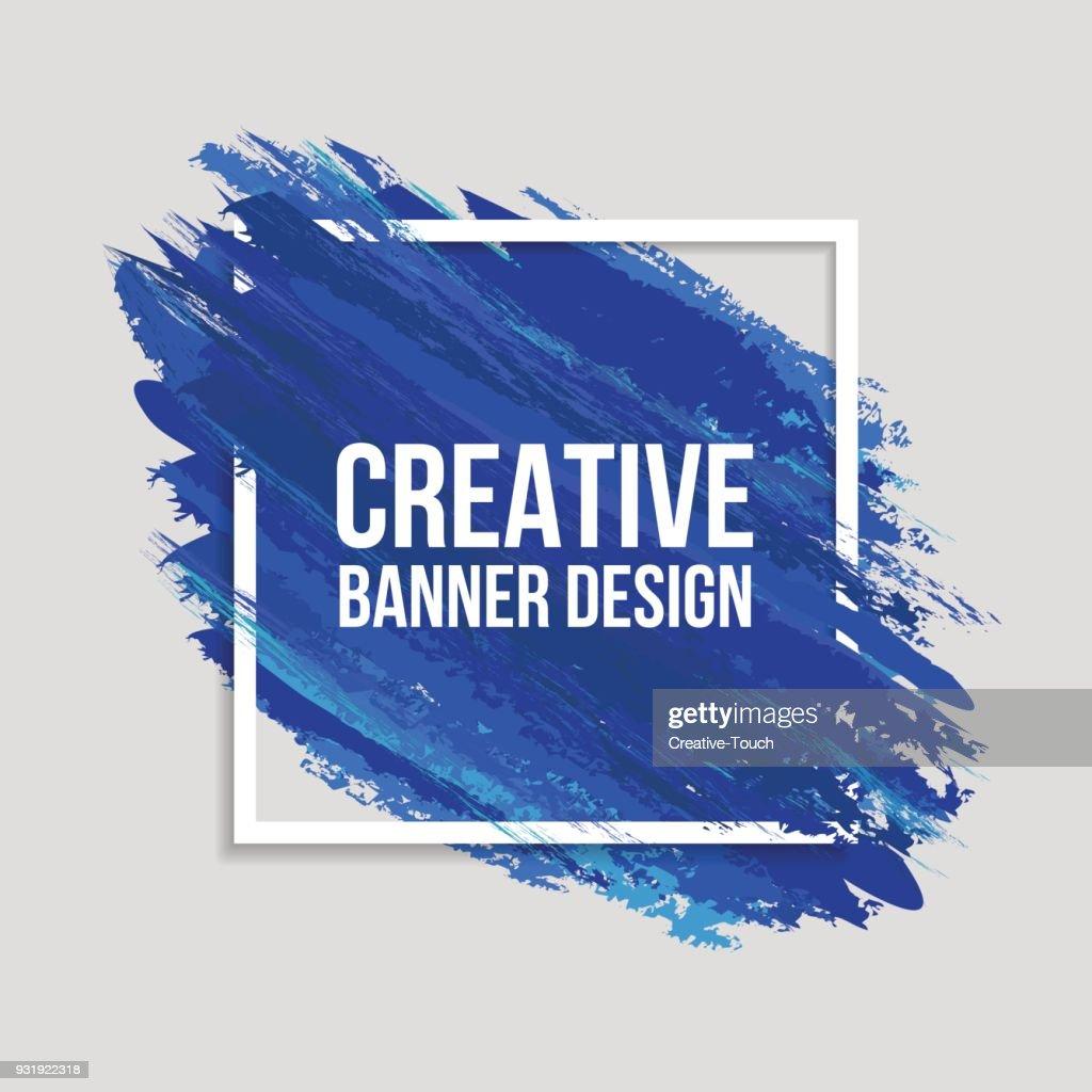 Banner creativi colorati : Illustrazione stock
