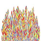 colored feathers, leaves, pattern. Element for your design, art background