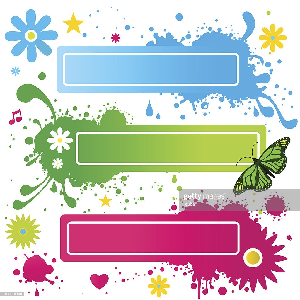 Colored Frames Vector Art | Getty Images