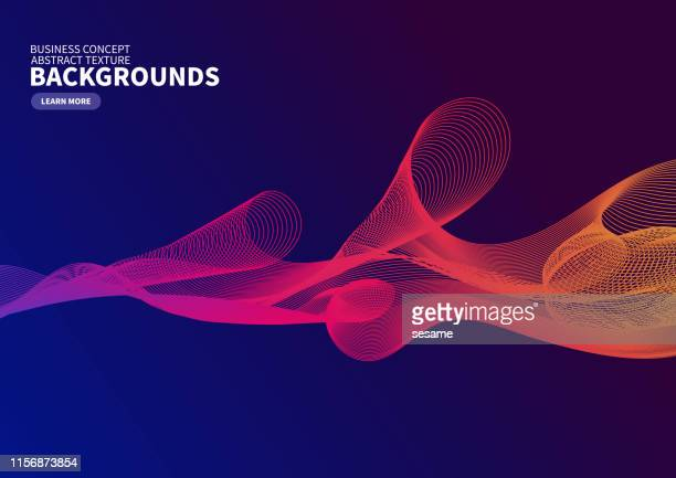 colored gradient curve background - orange color stock illustrations