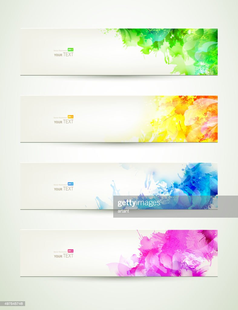 colored headers
