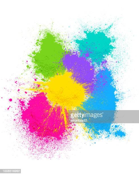 colored powder background - powder paint stock illustrations