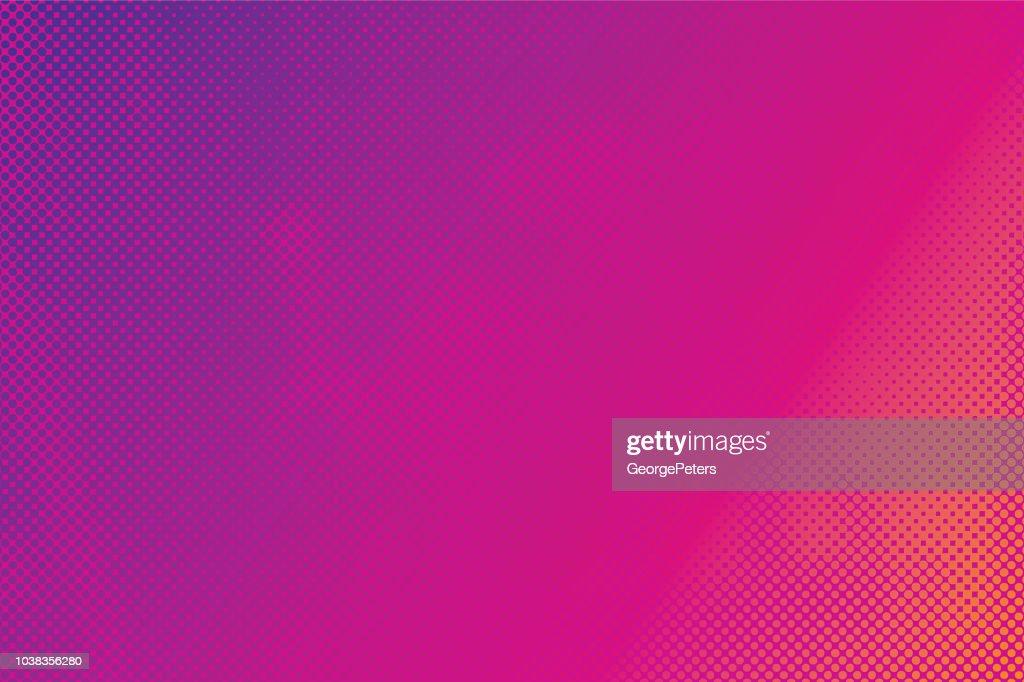 Abstrait coloré Halftone Pattern : Illustration