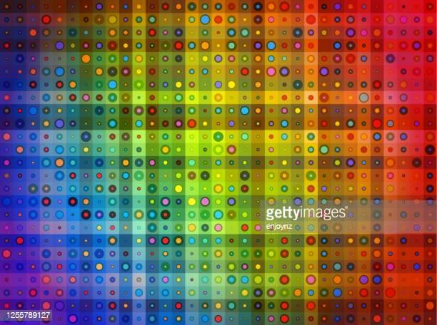 カラフルな抽象的な背景イラスト - lgbtプライド月間点のイラスト素材/クリップアート素材/マンガ素材/アイコン素材