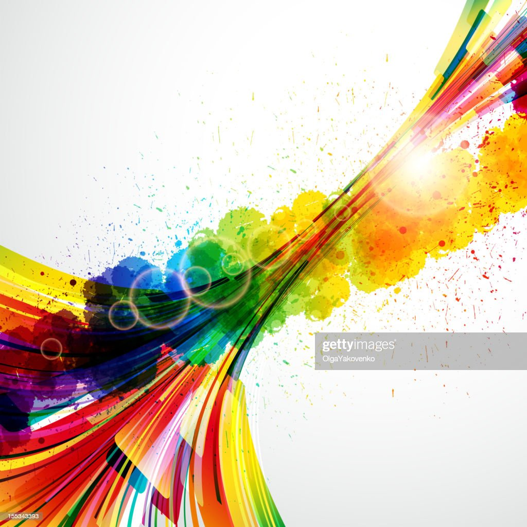 Colorful abstract background made of pixels