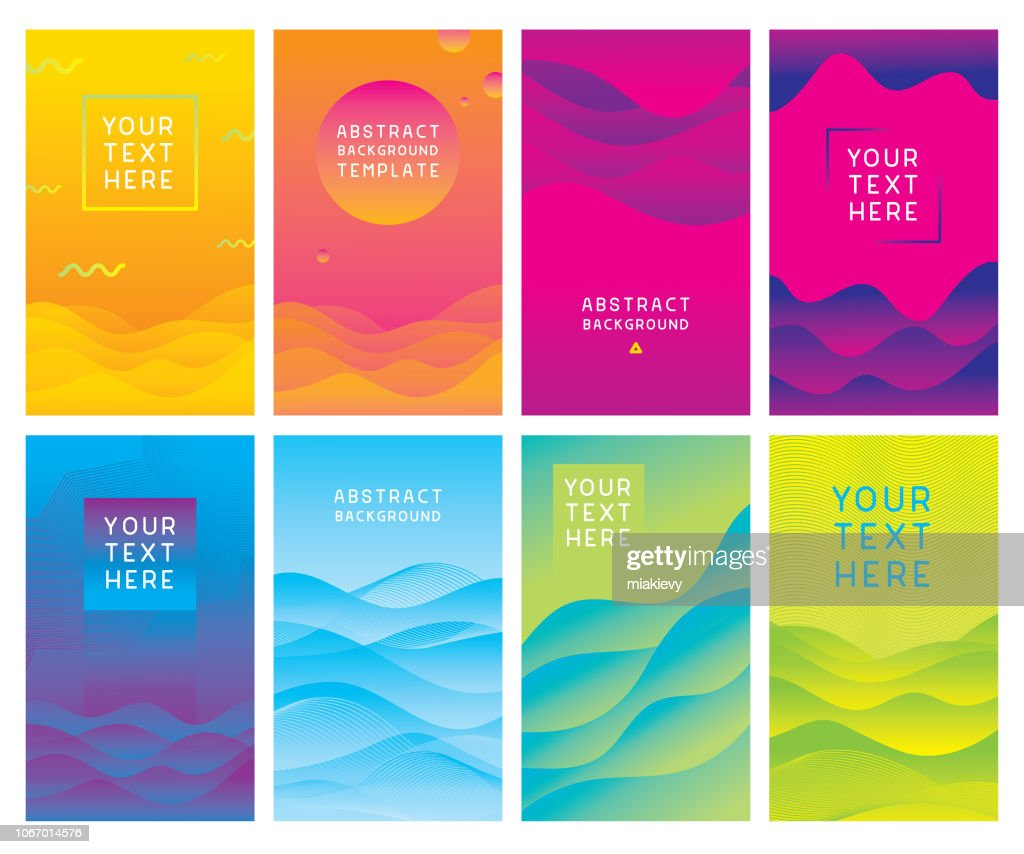 Colorful abstract background templates : stock illustration