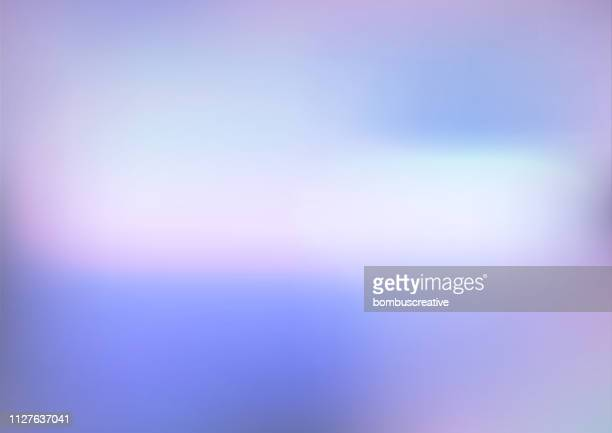 colorful abstract background - hill stock illustrations