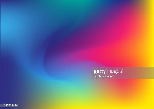 colorful abstract background - colour gradient stock illustrations