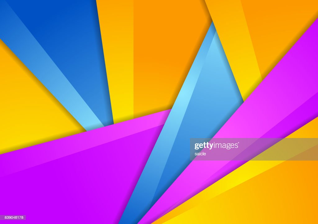 Colorful abstract corporate material background