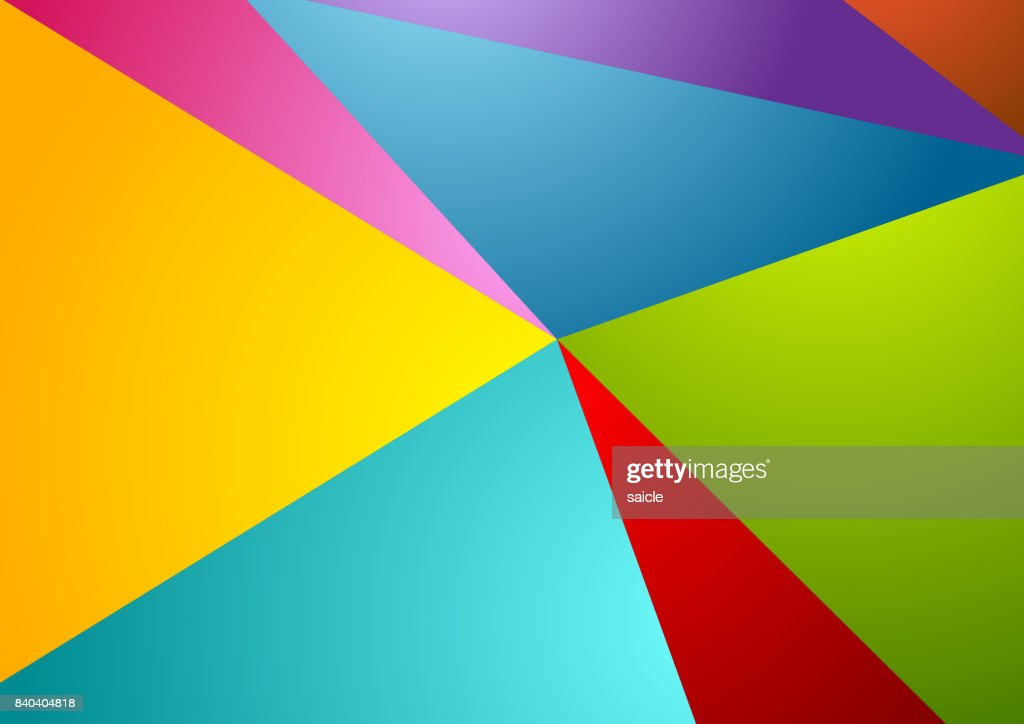 Colorful abstract corporate polygonal background