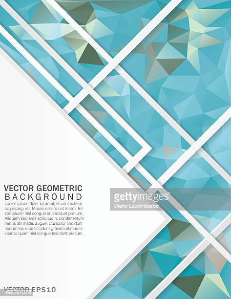 Colorful Abstract Geometric Design Background