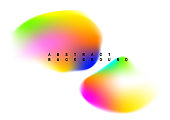 Colorful abstract graphic design, vector illustration