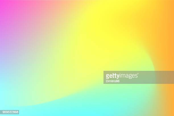 colorful abstract mesh background - curve stock illustrations