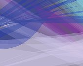 Colorful abstract vector background banner, transparent wave lin