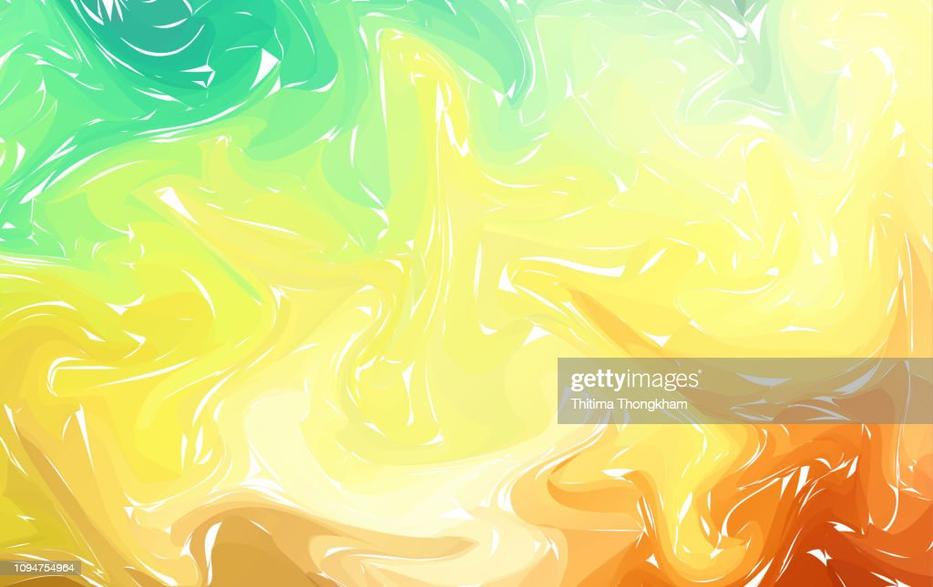 Colorful and bright abstract vector background with curved colorful lines and swirls. Marble texture background. Vector illustration for your graphic design.