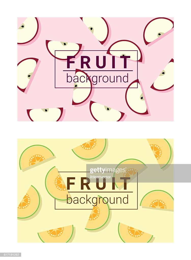 Colorful background with fruits 3