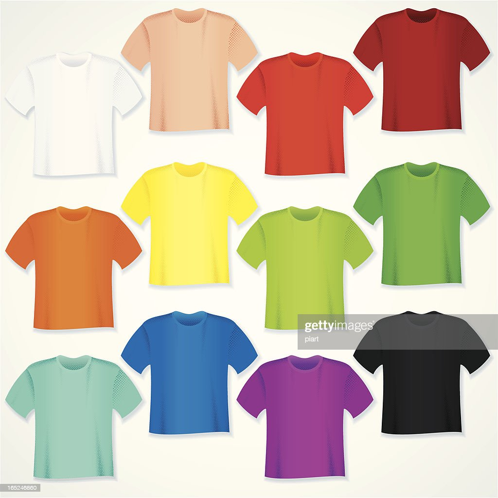 blank yellow t shirt template