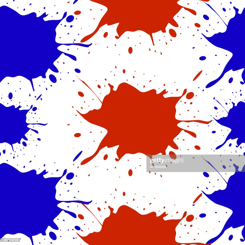 Colorful blots. Seamless vector pattern. Vector illustration. Eps 10