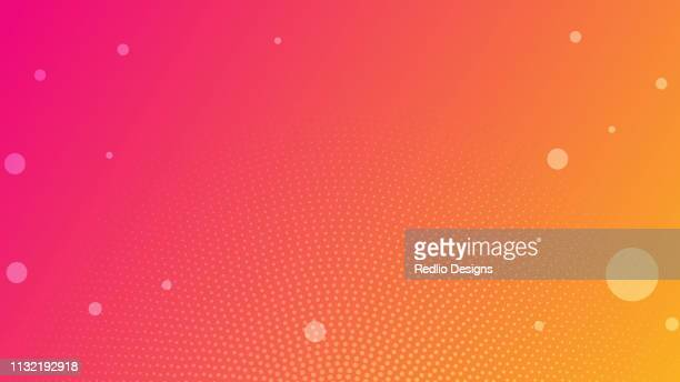 colorful blurred background banner - multiple exposure stock illustrations