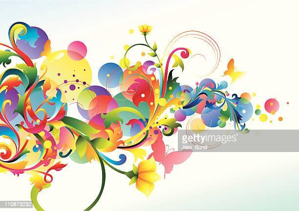 Ramo de colorido