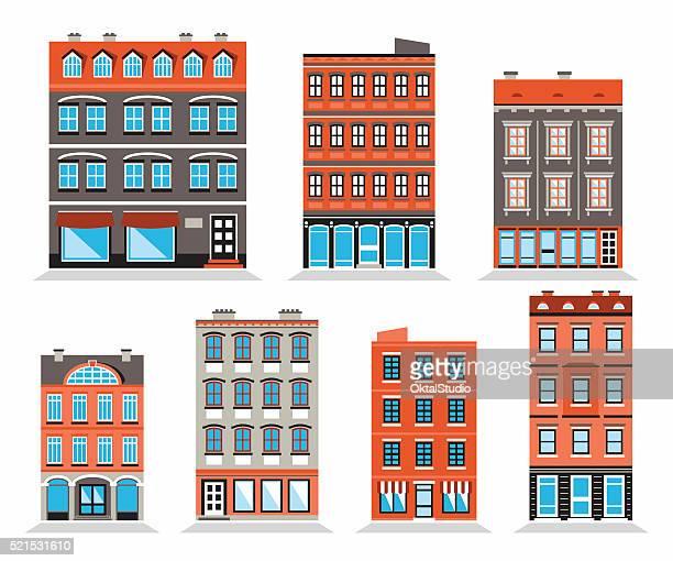 Colorful Building's Facades