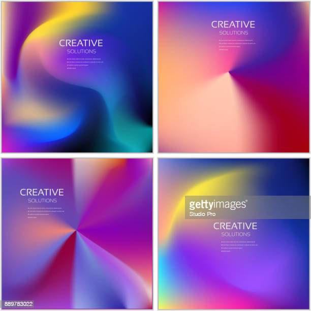 Colorful covers design collection