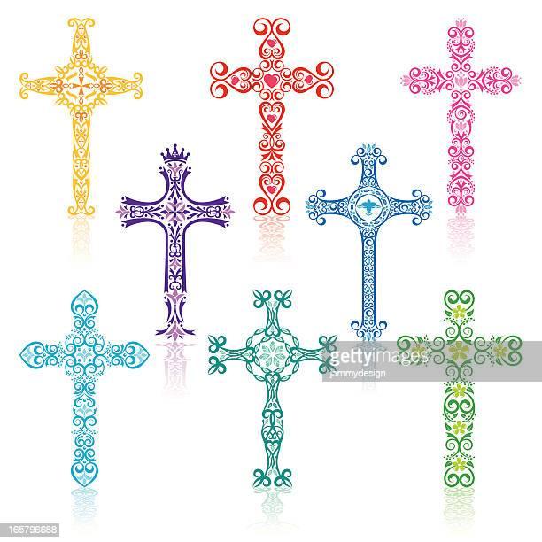 Colorful Crosses