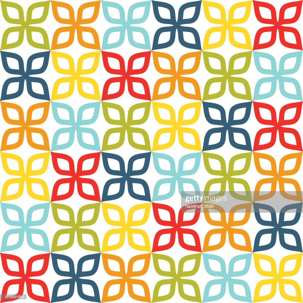 colorful decorative pattern